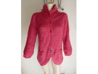 MAGLIONE DONNA WOMAN SWEATER GINGER SOUL TG L PINK ROSA NEW NUOVO