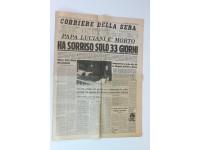 GIORNALE 12/11/2001 RESTO DEL CARLINO CADUTA DELLE TORRI GEMELLE 11/11 NEW YORK NUMERO STORICO ATTACCO USA ARTICOLO TERRORISMO