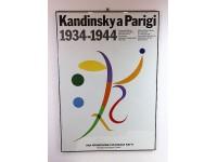 POSTER MOSTRA RENOIR PARIGI 1985 LOCANDINA ESPOSIZIONE ARTE MODERNA MODERN ART