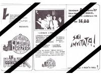 Dettagli su FANZINE INVITO CONCERTO 1987 87 LUCIANO LIGABUE ORAZERO ANIME IN PLEXIGLASS LP
