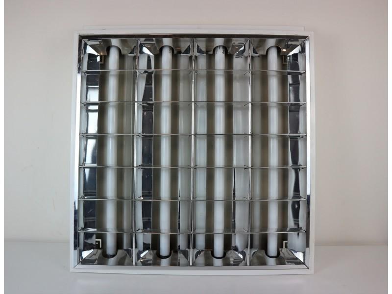 Plafoniere Led 60x60 Philips : Plafoniera controsoffitto philips cm neon metallo wx