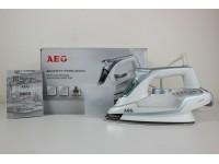 FERRO STIRO AEG DB6130 2300W BIANGO GRIGIO NUOVO