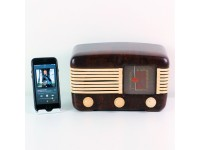 RADIO VINTAGE BLUETOOTH SPEAKERS GELOSO G16/410 USATA CASSA ALTOPARLANTE MODIFICATA