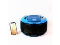 RADIO VINTAGE BLUETOOTH SPEAKERS GELOSO G16/410 USATA CASSA ALTOPARLANTE MODIFICATA