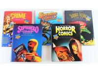 THE ILLUSTRATED HISTORY OF COMICS 1-5 BENTON TAYLOR FUMETTI STORIA