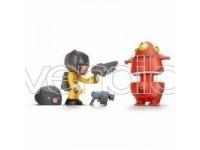 Famosa 11341 16124 - Mutant Busters Action Pack 2 Figures [Giocattolo]