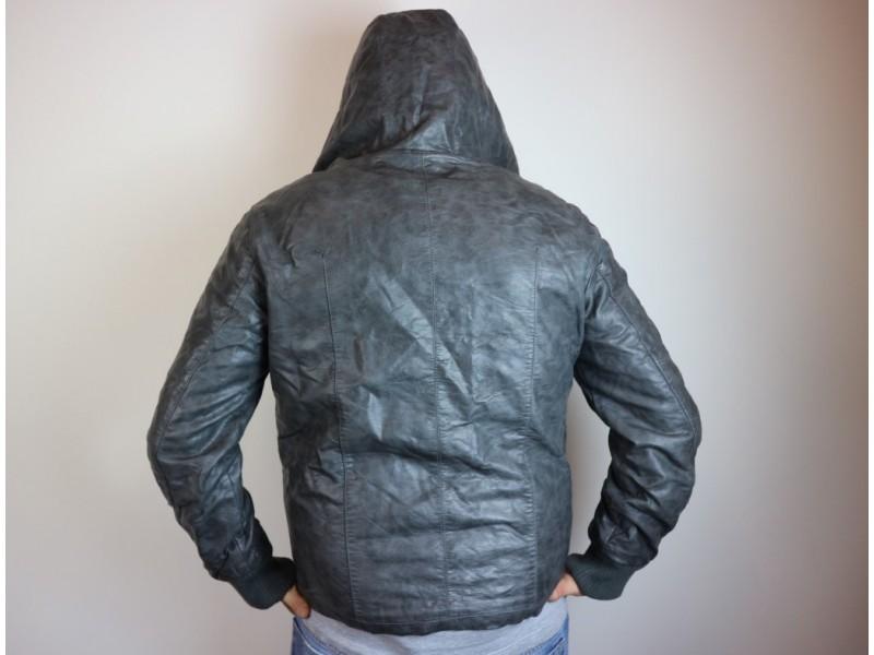 Giacca jeans imbottita usata