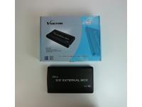 VEKTOR 3.5'' HDD EXTERNAL BOX ENCLOSURE VK-UB11+ HARD DISK VK UB11 USATO